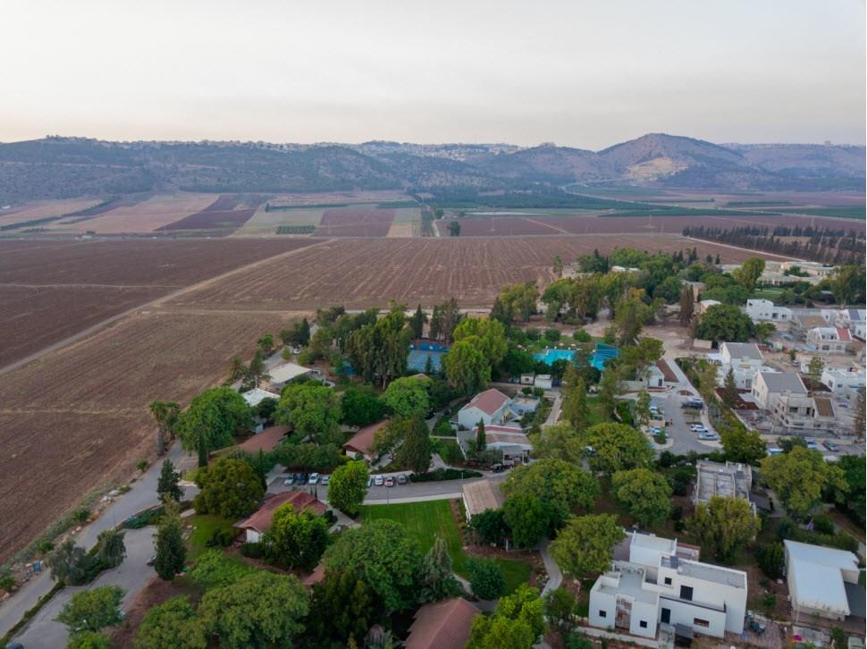 כפר נופש מזרע - נוף עמק יזרעאל