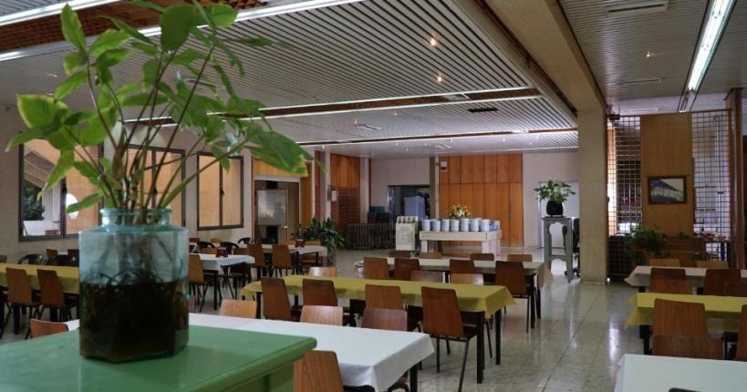 חדר האוכל - כפר הנופש מזרע